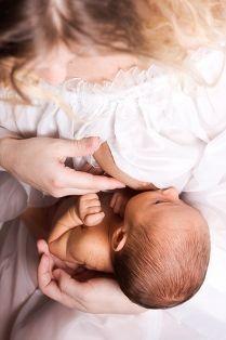 Australian breastfeeding hold, upright breastfeeding hold